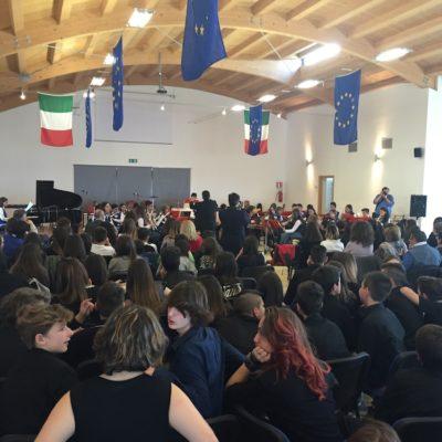 Esibizione dell'orchestra dell'I.C. Subiaco