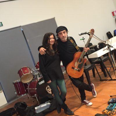 Fausto Mesolella e Barbara Eramo