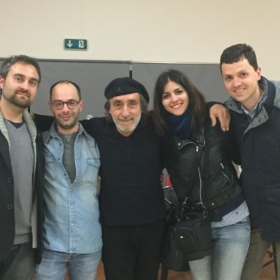 Franceso Ruggiero, Daniele Dian, Fausto Mesolella, Fabiana Giangregorio, Leone Keith Tuccinardi