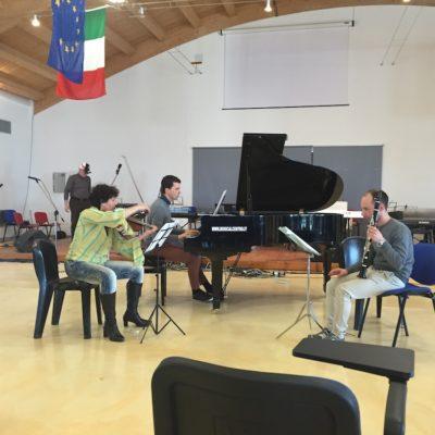 Prove concerto serale trio Bono, Tuccinardi, Dian